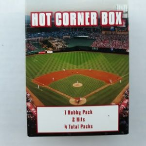 Hot Corner Box Baseball cards 1 Hobby 2 hits 4 Hob